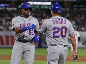 Mets' Cespedes too sore to start, may need surgery