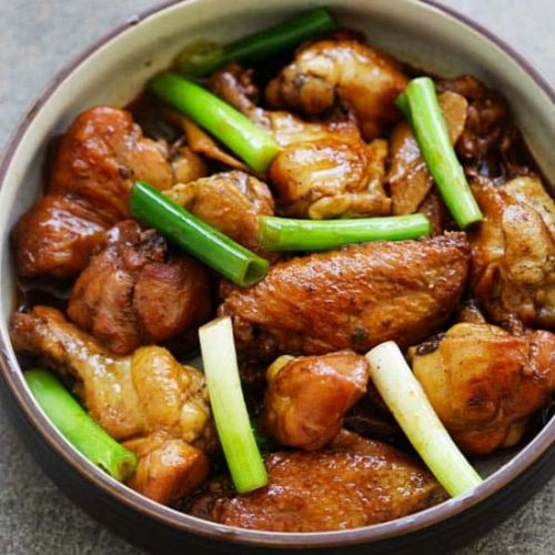 Ginger Soy Chicken