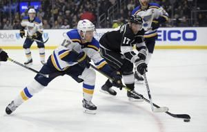 Tarasenko scores, Allen solid as Blues beat Kings 4-0