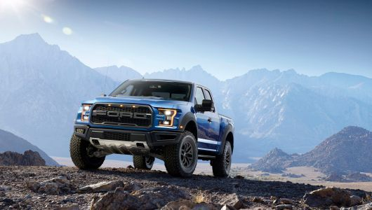 Kanye West has a fleet of Ford Raptors that he drives around his $14 million ranch in Cody, Wyoming - here's a closer look at his truck of choice