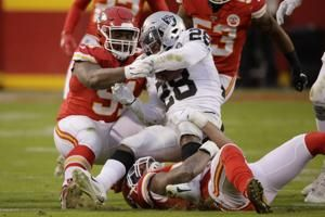 Chiefs defense rounding into form for trip to New England