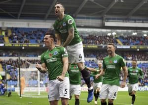 Cardiff grabs 90th-minute winner, beats Brighton 2-1 in EPL