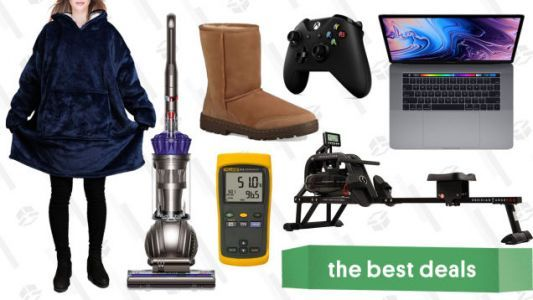 Tuesday's Best Deals: Dyson Ball, Ugg,MacBook Pro, and More