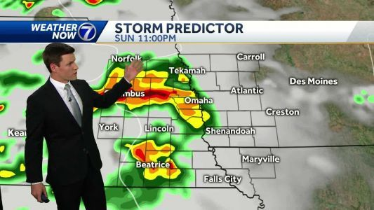 Storms and heavy rain likely overnight, more storm chances Memorial Day