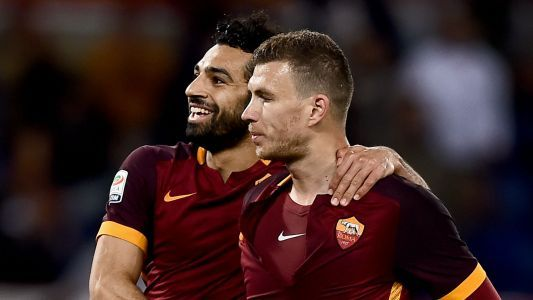 Dzeko: I told Salah he can take a rest from scoring against Roma