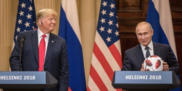 What happened every other time Putin met with US presidents