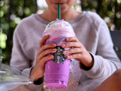 Starbucks has a new, over-the-top take on the Unicorn Frappuccino designed to take over Instagram