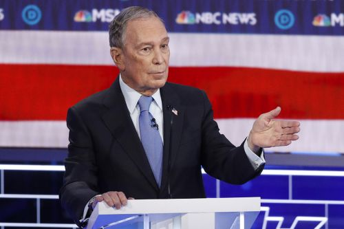 Democratic debate begins with a flurry of Bloomberg attacks