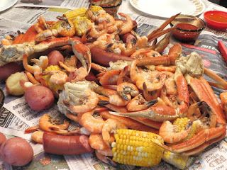 Tis the season for a SUMMER SEAFOOD BOIL by Ric Orlando