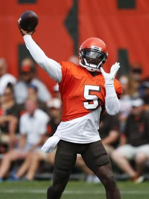 Taylor driven by Bills trading QB to Browns
