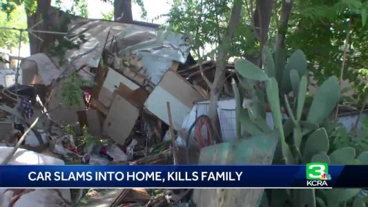 CHP: Suspected DUI driver slams into home, killing family