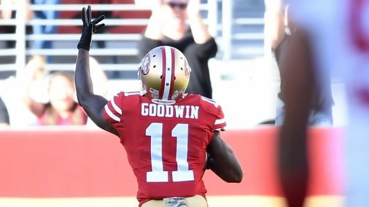 Marquise Goodwin plays, scores emotional TD for 49ers hours after losing baby boy