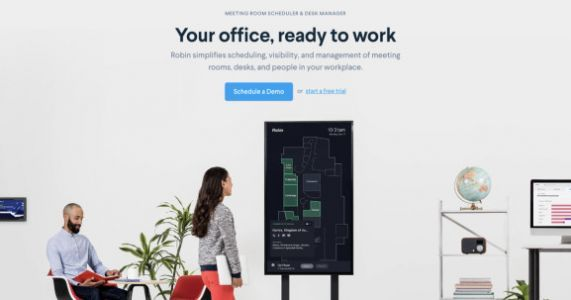 Robin raises $20 million to manage conference rooms and workstations