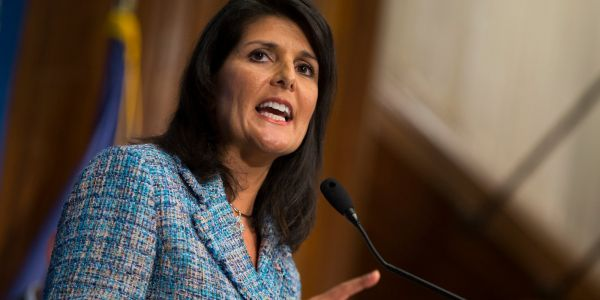 Nikki Haley hits back at Iran's president blaming the US after military parade attack
