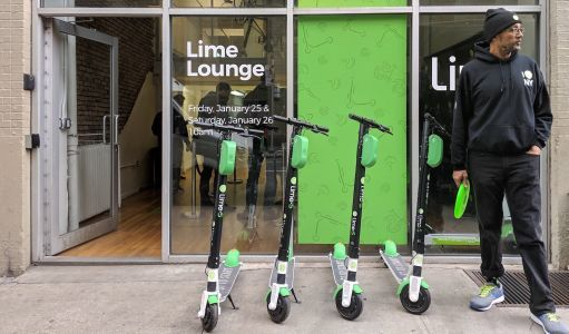 Lime has a new, rugged scooter that the company says is built for New York City roads