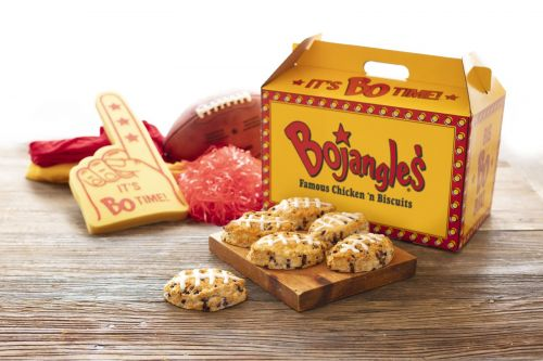 What's Sweeter Than A Game Winning Play? Bojangles' Football-Shaped Bo-Berry Biscuits