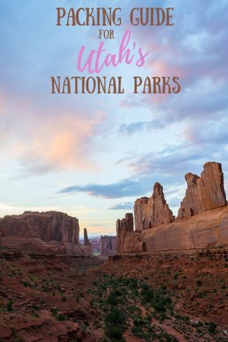 What to Pack for a Trip to Utah's National Parks