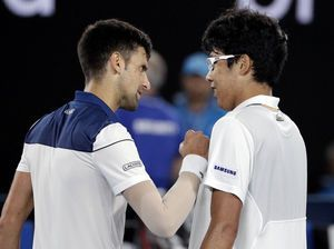 Chung's upset over Djokovic raises tennis profile at home