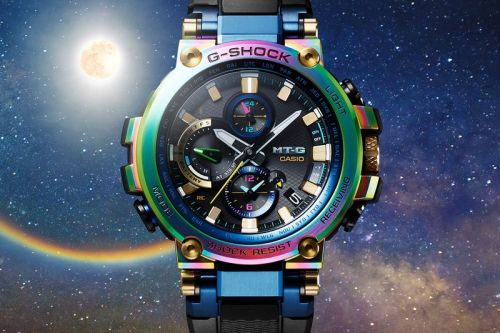 Casio's Latest G-SHOCK MT-G Is Beyond Colorful