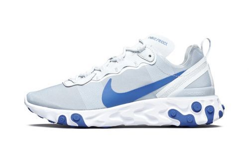 "The Nike React Element 55 Receives a ""Racer Blue"" Colorway"