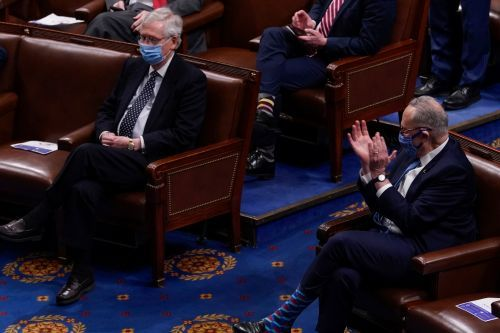 Schumer and McConnell try to cut a deal on a 50-50 Senate