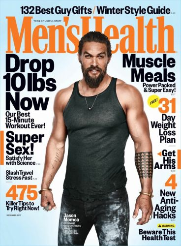 Jason Momoa Covers Men's Health, Talks Family