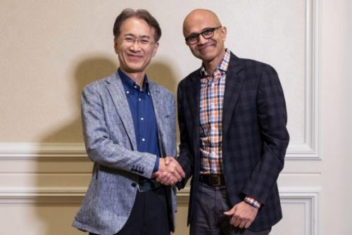 Sony and Microsoft, kissing in a tree, working on AI and cloud technology
