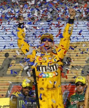 Kyle Busch has 2nd NASCAR Cup championship in sight