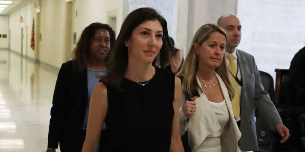 Ex-FBI official Lisa Page says Trump's relentless attacks and 'degrading' fake orgasm stunt at rally led her to break silence