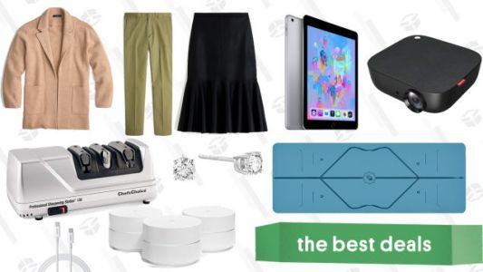 Friday's Best Deals: iPads, REI Clearance, Valentine's Bidet, and More