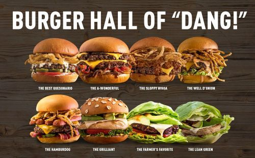 "Best of Burgers: MOOYAH Burgers, Fries & Shakes Brings Back Popular ""Burger Hall of 'Dang!'"" Promotion"
