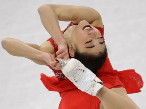 No, Mirai Nagasu does not have a giant 'USA' tattoo on her inner thigh