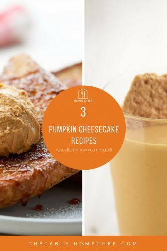 3 Pumpkin Cheesecake Recipes