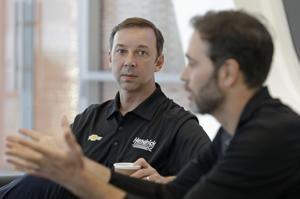 Talladega starts final 6-week run for Johnson and Knaus