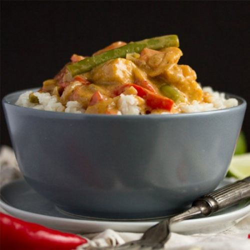 One Pot Vegetable Thai Red Curry