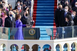 Kamala Harris Sworn In As First Black Vice President Of The United States