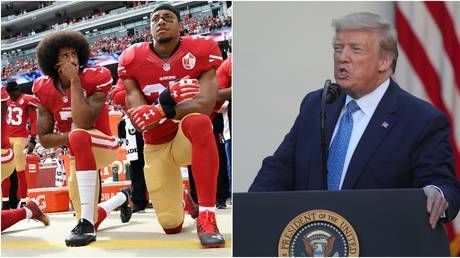 NFL boss says 'we were wrong' over stance on player protests - but Trump yells 'NO KNEELING'
