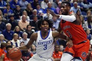 Kentucky's Maxey becomes second Wildcat to enter NBA draft