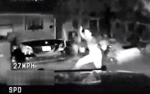 California PD releases video of police SUV hitting teen running from authorities