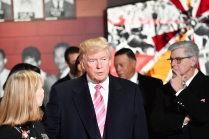 Trump Visits Mississippi Civil Rights Museum Amid Protests