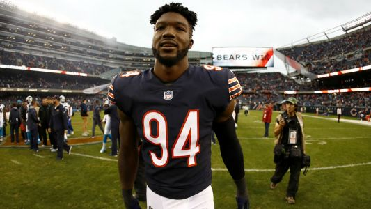 Matt Nagy confirms Leonard Floyd has broken hand, underwent surgery