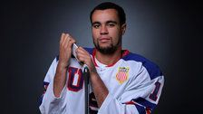 U.S. Men's Olympic Hockey Team Includes First Black Player In 98-Year History
