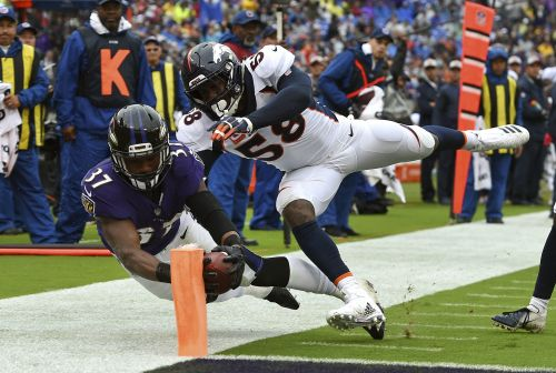 Buck Allen scores two TDs as Ravens beat Broncos