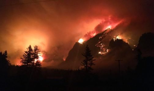 Judge: Teen must repay $37M for starting Oregon wildfire