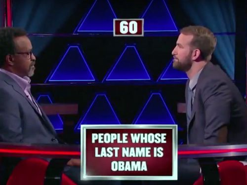 A '$100,000 Pyramid' contestant mixed up Osama bin Laden and Barack Obama - but he has an explanation for the 'most embarrassing moment' of his life