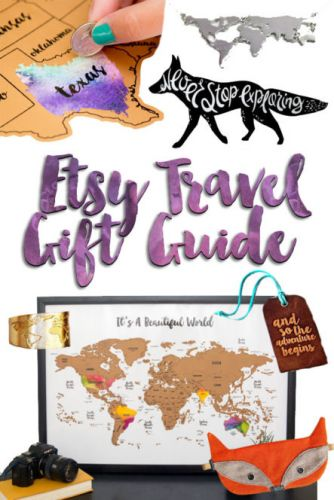 Etsy Travel Themed Gift Guide