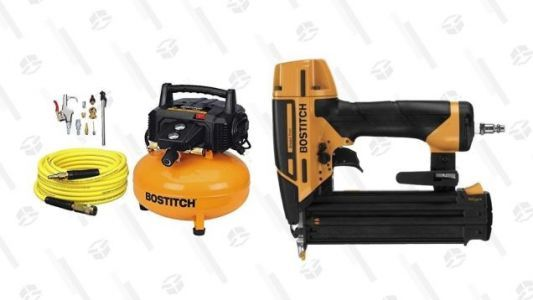 Save On a Pancake Compressor, and Get a Free Nail Gun