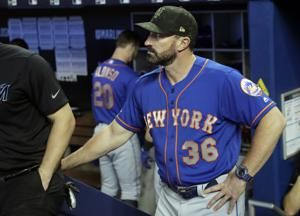 Callaway stays; Céspedes takes fall, breaks ankle on ranch
