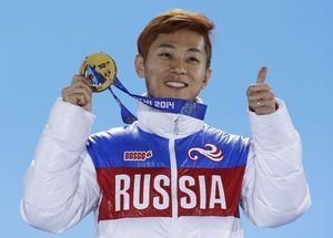 Russia says Ahn among top athletes barred from Olympics