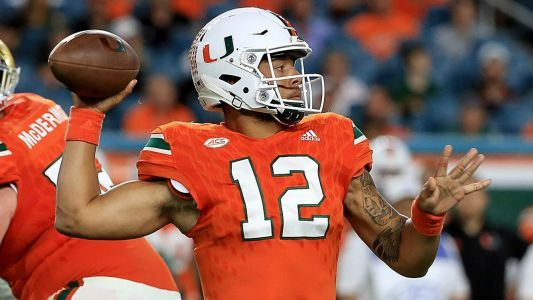 Miami QB Malik Rosier beat Notre Dame days after father suffered stroke